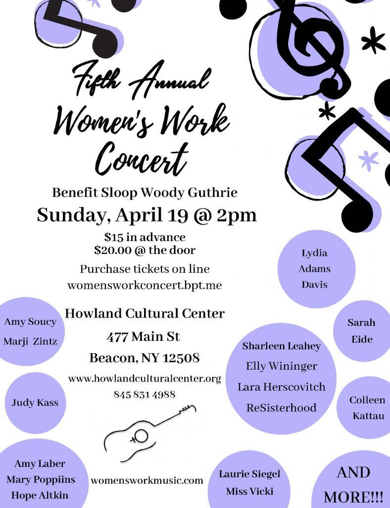 Women's Work Concert April 19, 2020